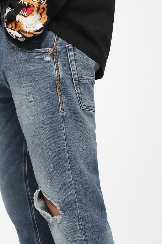 Rifle - DIESEL S.P.A.,BREGANZE KROOLEYNE Sweat jeans modré