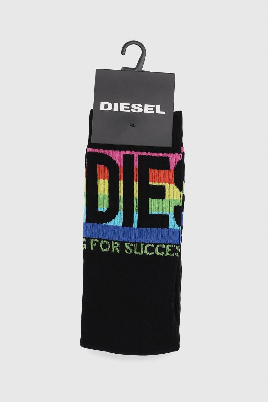Ponožky - DIESEL S.P.A.,BREGANZE SKMRAY SOCKS čierne
