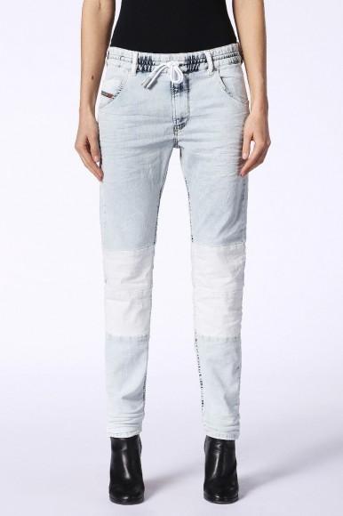Rifle - DIESEL S.P.A.,BREGANZE KRAILEYBKNE Sweat jeans modré
