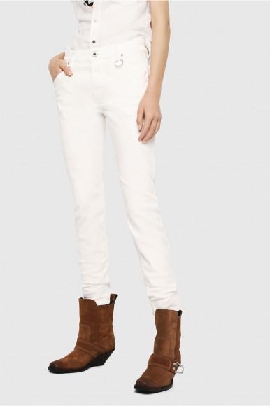 Rifle - DIESEL S.P.A.,BREGANZE KRAILEYBNE Sweat jeans biela