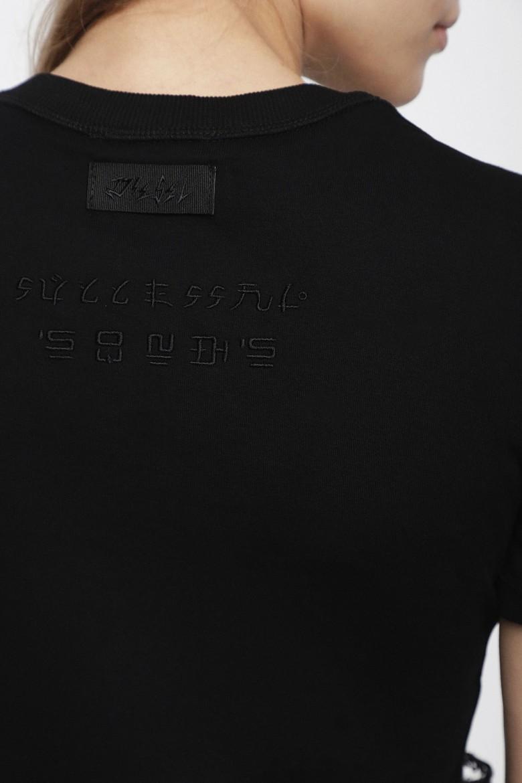 Tričko- DIESEL S.P.A.,BREGANZE TSALIA TSHIRT čierne