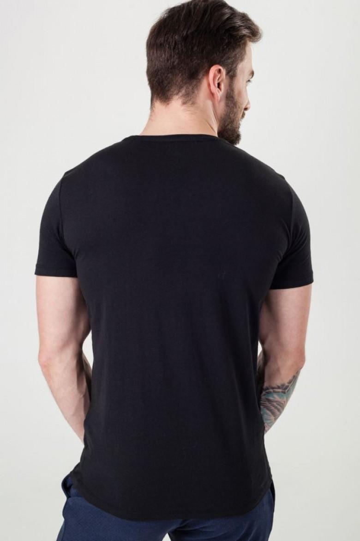 Sada 3 tričiek - UMTEE-JAKETHREEPACK 0374 bielo-čierno-šedá