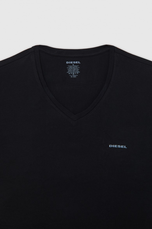 Set 3 tričiek - Diesel UMTEEJAKEVTHREEPACK 0374 čierna