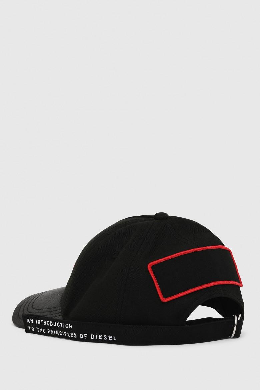 Šiltovka - DIESEL S.P.A.,BREGANZE CBOTTY HAT čierna