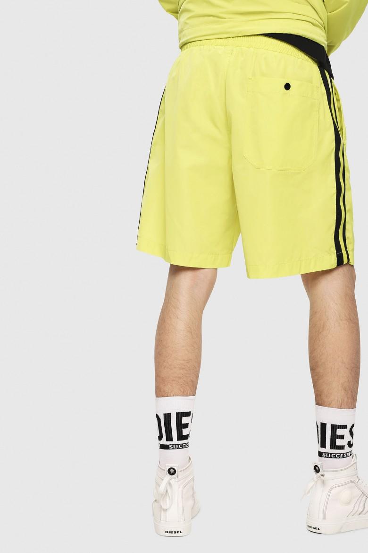 Krátke nohavice - DIESEL S.P.A.,BREGANZE PBOXIE SHORTS žltá
