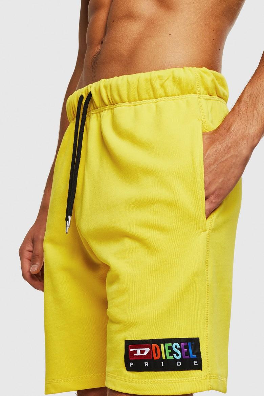 Krátke nohavice - DIESEL S.P.A.,BREGANZE UMLBPAN SHORTS žlté