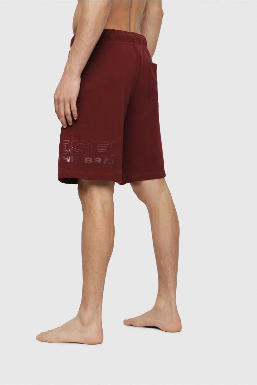 Teplákové krátke nohavice - DIESEL S.P.A.,BREGANZE UMLBPAN SHORTS bordové