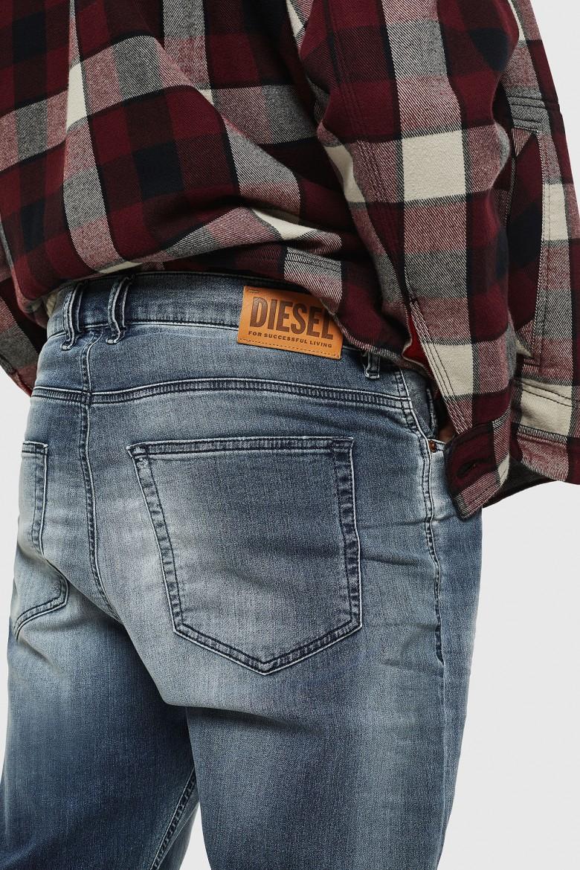 Rifle - DVIDER CBNE Sweat jeans modro-sivé