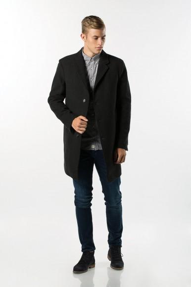 Kabát - Tommy Hilfiger BROCK STRUCTURED WOOL COAT