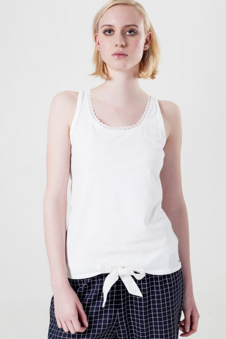 Tielko - Tommy Hilfiger Cotton cami top comfort