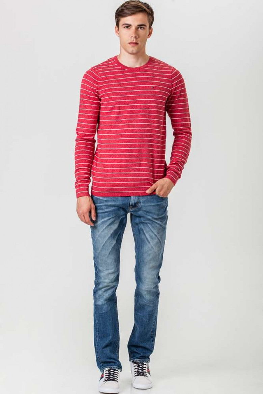 Sveter Hilfiger Denim Basic text stripe cn sweater l/s 6