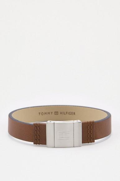 Náramok Tommy Hilfiger hnedý