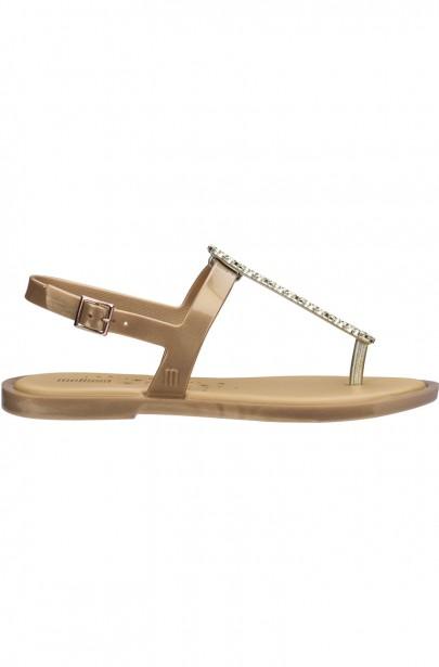 Sandále MELISSA SLIM SANDAL II AD zlaté