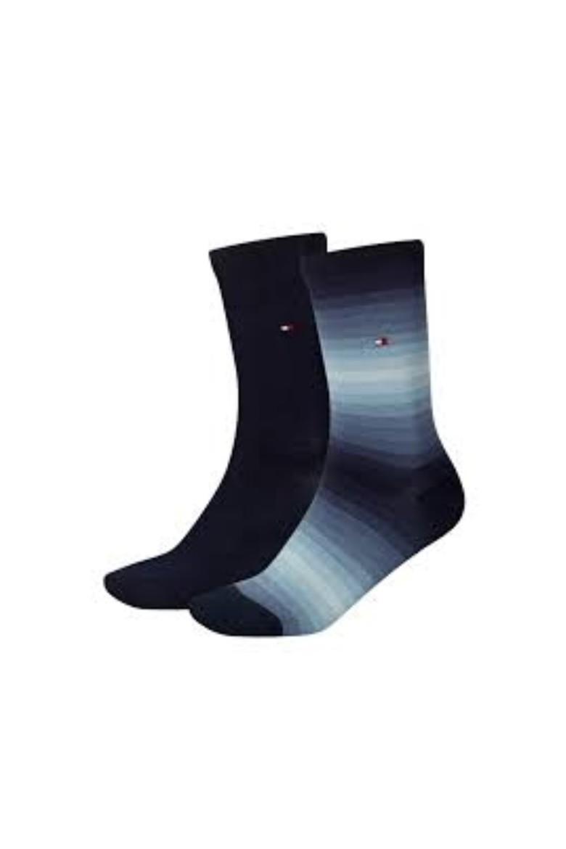 Ponožky - TH WOMEN SOUNDWAVE SOCK 2P čierna modrá