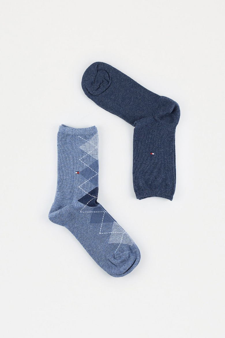 Ponožky - LITTLE ITALY TH WOMEN TWISTED ARGYLE SOCK 2P