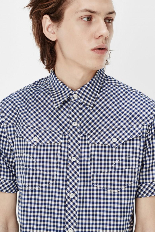 Košeľa - G-star raw s krátkymi rukávmi