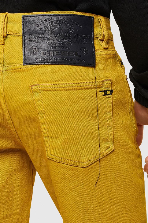 Krátke nohavice - Diesel DSTRUKTSHORTSP SHORTS žlté