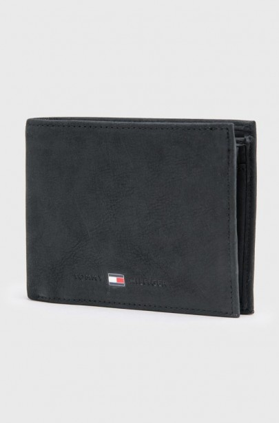 Kožená peňaženka Tommy Hilfiger JOHNSON CC FLAP AND COIN POCKET