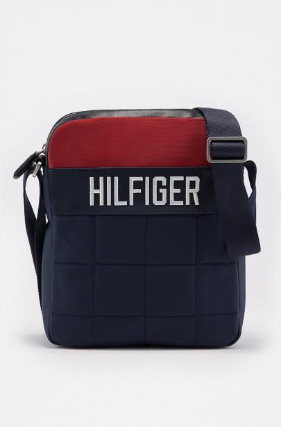 Taška na rameno - TOMMY HILFIGER HILFIGER GO REPORTER modrá ... b90fd3270eb