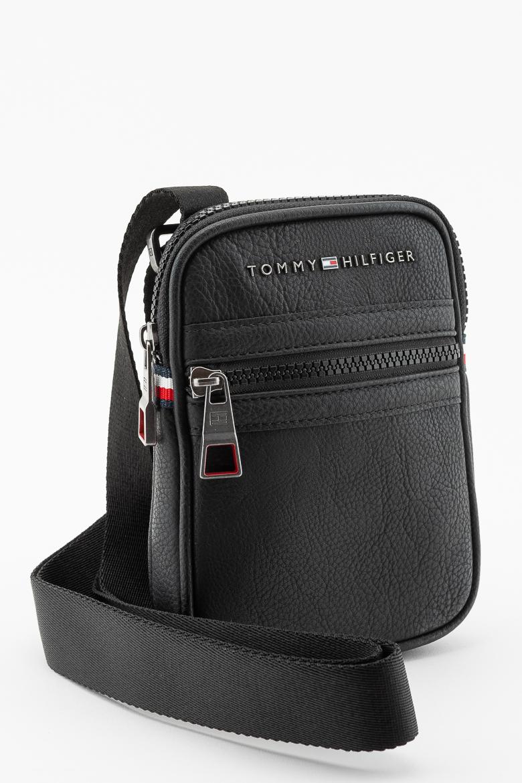 213ab85026 Taška na rameno - TOMMY HILFIGER ESSENTIAL COMPACT CROSSOVER čierna ...