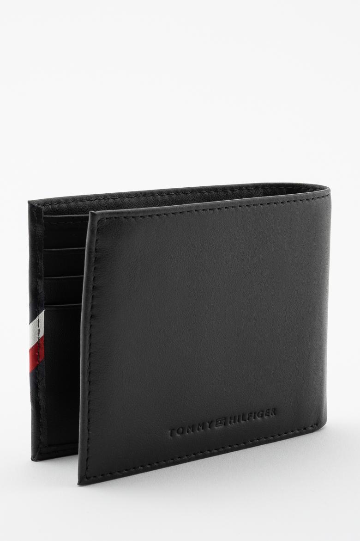 Peňaženka - TOMMY HILFIGER CORP EDGE MINI CC WALLET čierna