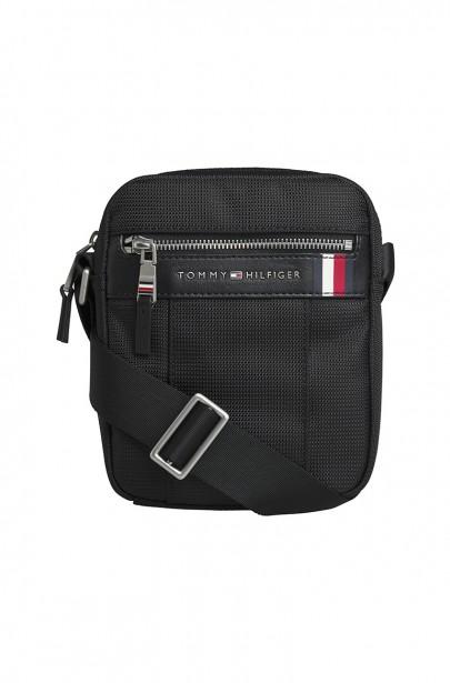 Pánska taška ELEVATED NYLON MINI REPORTER čiernej farby