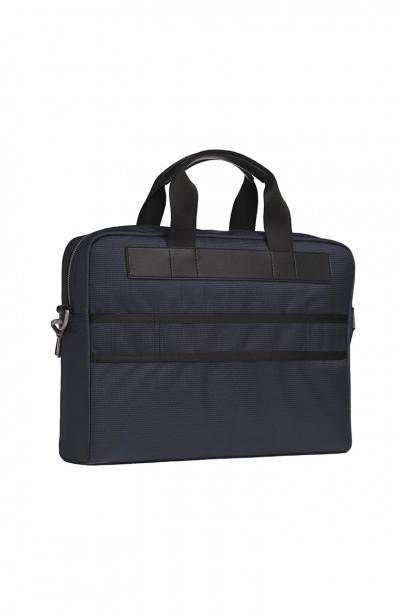 Pánska taška na laptop ELEVATED NYLON COMPUTER BAG tmavomodrej farby
