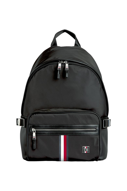 Pánsky ruksak CLEAN NYLON BACKPACK čiernej farby