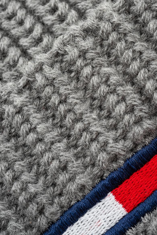 Zimný set - TOMMY HILFIGER TJU BASIC SCARF & BEANIE GP sivý