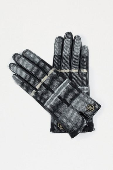 Rukavice - Tommy Hilfiger WINTER CHECK WOVEN GLOVES