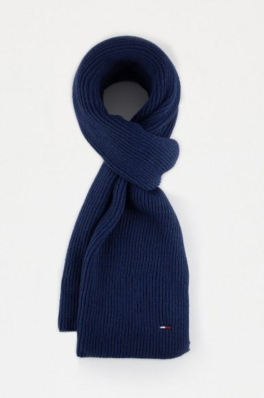 Šál - TOMMY HILFIGER BASIC KNIT DENIM SCARF