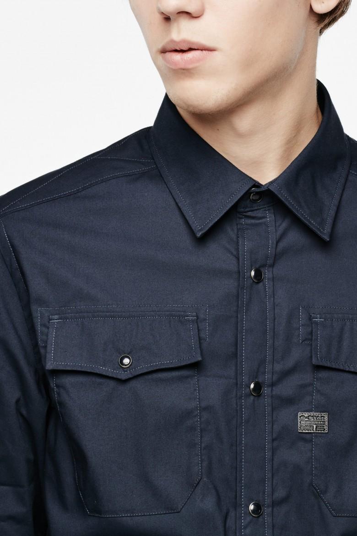 Košeľa - Correct Landoh Shirt tmavo-modrá