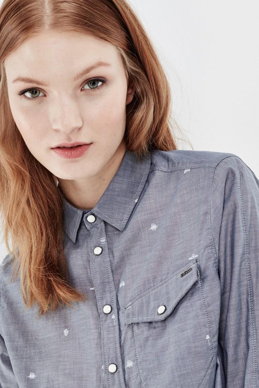 Košeľa G-STAR Tacoma 1pkt BF shirt wmn l/s