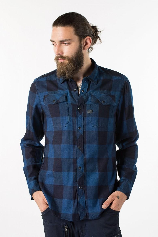 Košeľa - G-STAR Landoh Shirt l/s