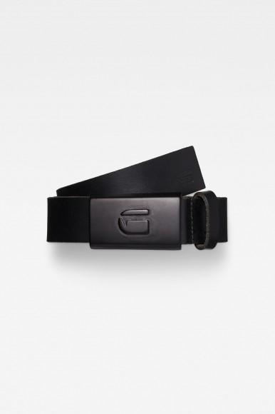 Opasok - G-STAR Data pin belt čierny