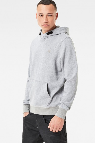 Mikina - G-STAR Core hooded sw l/s