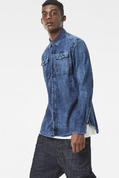 Košeľa - G-STAR Landoh Clean Shirt l/s