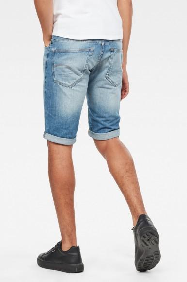 Krátke nohavice - G-STAR 3301 1/2 modré