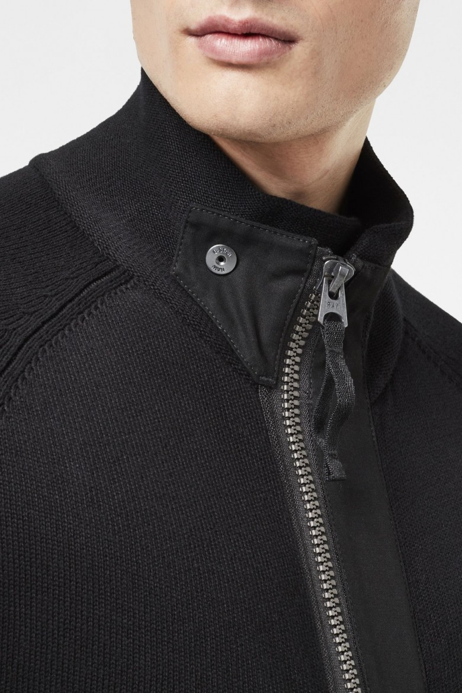 Sveter - G-STAR Empral zip through knit l/s