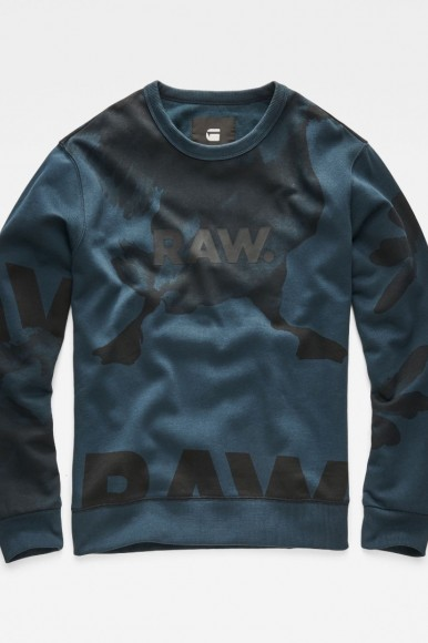 Mikina - G-STAR Core s 3 r sw l/s