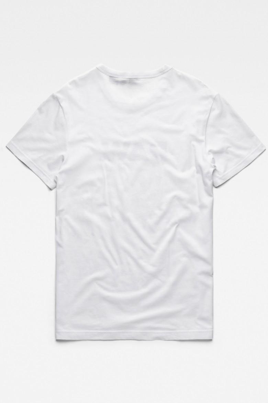 Tričko - G-STAR Holorn r t s/s biele