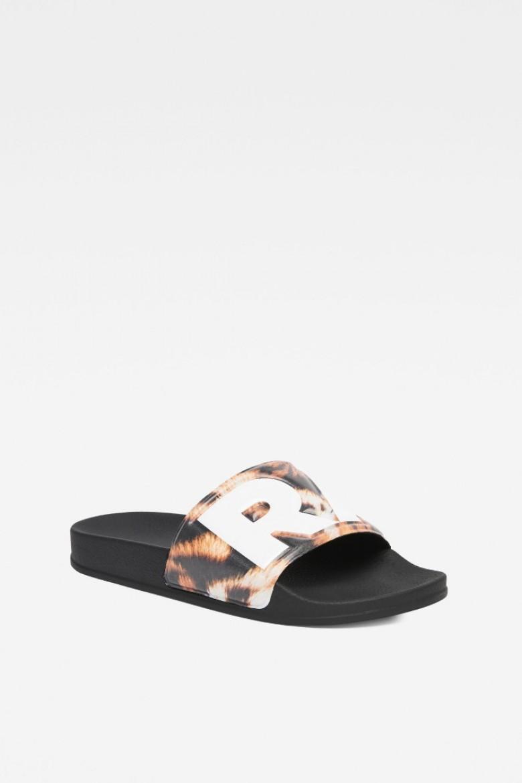 Plážová obuv - G-STAR Cart slide II AOP viacfarebná
