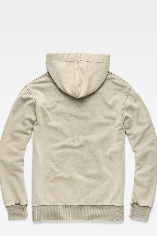 Mikina - G-STAR Lyl strett dc hooded sw l/s zelená