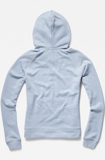... Mikina - G-STAR Loose hooded sw wmn l s modrá 694f2839dc2