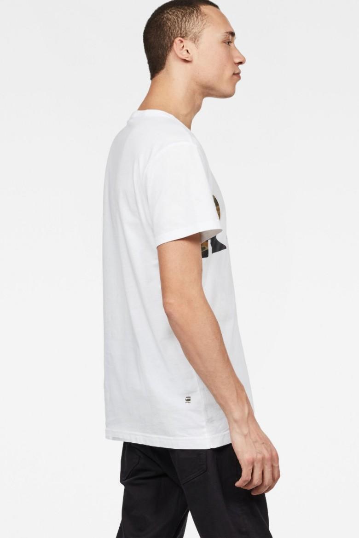 Tričko - G-STAR Tahire r t s/s biele