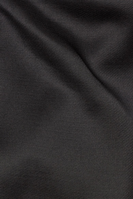Blúzka - G-STAR Vodan dc open back crp shirt wmn l- čierna
