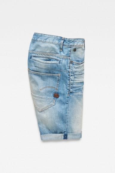 Krátke nohavice - G-STAR D-Staq 3D 1/2 modré