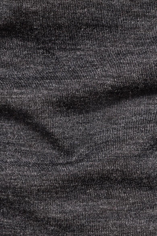 Sveter - G-STAR Core r knit ls tmavo-sivý