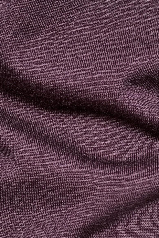 Sveter - G-STAR Core r knit ls bordový