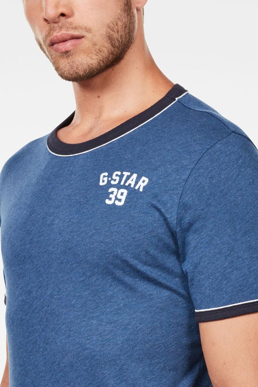 Tričko - G-STAR Polyca slim r t s/s modré